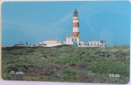 ISLE OF MAN - Point Of Ayre Lighthouse, Tirage 20000, Used