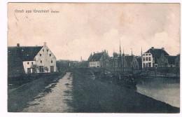 D6604   GREETSIEL : Hafen - Krummhörn