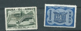 Cuba Poste Aerienne - Yvert Série 193/1940**  - Abc9403 - Poste Aérienne