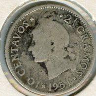 République Dominicaine Dominican Republic 10 Centavos 1951 Argent KM 19 - Dominicaine
