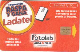 GUATEMALA - Raspa Y Gana/Fotolab, Chip GEM3.3, Used - Guatemala