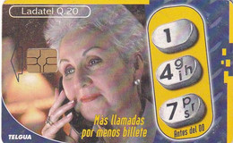 GUATEMALA - Old Lady, Chip GEM3.3, Used - Guatemala