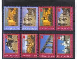 ESS247 UNO New York 2000 Michl 846/47  848/53  BOGEN Und MARKENHEFT - MARKEN ** Postfrisch - New York -  VN Hauptquartier