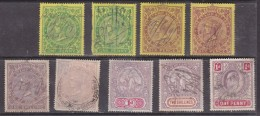 South Africa :Cape Of Good Hope 9 X  Revenue - Revenue Stamps,used; Low Denomination, Low Cat Value - South Africa (...-1961)