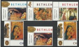 PALESTINE 2000  CHRISTMAS  SET  MNH - Palästina