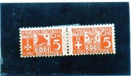 B - 1934 Italia - Rodi - Pacchi Postali (linguellato) - Egeo (Rodi)