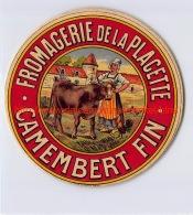Fromagerie De La Placette Camembert Fin - Cheese