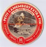 Petit Camembert Extra Fin Derrien Frère Damblainville - Formaggio
