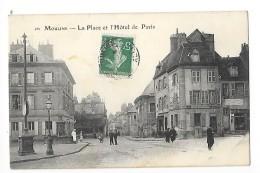 MOULINS  (cpa 03)  La Place Et L'hôtel De Paris  -    - L 1 - Moulins