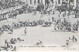 FETES DES VIGNERONS 1905 - VEVEY - NUM 15 - LES LUTTEURS  - N/C - VD Waadt