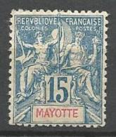 MAYOTTE TYPE GROUPE N°  6 NEUF* TRACE DE CHARNIERE / MH / 2 SCANS - Nuovi