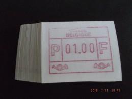 Clichébreuk Bovenkader. Nieuwe Cijfers, Laag Punt. E Papier. N/F. 50 X. R. - Vignettes D'affranchissement