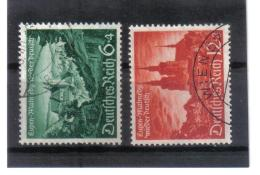 XAX219  DEUTSCHES REICH 1940  MICHL 748/49 OSTMARK STEMPEL WIEN Used / Gestempelt Siehe ABBILDUNG - Deutschland