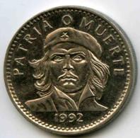 Cuba 3 Pesos 1992 Che Guevara KM 346a PAYPAL ATTENDRE / WAITING - Cuba
