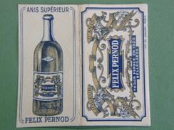 Ancien Paquet - FEUILLES De PAPIER à Rouler Le Tabac Pour Cigarettes : Félix PERNOD - ANIS SUPERIEUR - BELLEGARDE - Tabac (objets Liés)