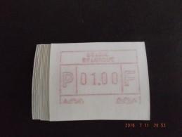 Deeldruk Onder 10 X. E Papier. N/F. R. - Postage Labels