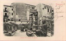 SIRACUSA - Avanzi Del Tempio Di Diana - Siracusa