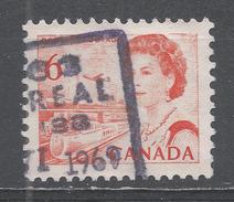 Canada 1969, Scott #459b Transportation Means (U) - 1952-.... Règne D'Elizabeth II