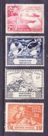 Northern Rhodesia, George VI, 1949, U.P.U. Set Of 4, Used - Northern Rhodesia (...-1963)