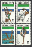 SIERRA LEONE 1988 SEOUL OLYMPIC GAMES SET MNH - Zomer 1988: Seoel