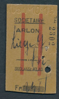QY2110 Belgique 3rd Cl  Arlon XO31.10.18 - Abonnements Hebdomadaires & Mensuels