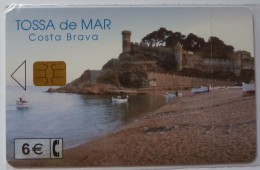 SPAIN - Chip - 6 Euro - Tossa De Mar- 03.02 - CP-249 - Mint Blister - Conmemorativas Y Publicitarias