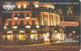 ARMENIA - Hotel Yerevan, ArmenTel Prepaid Card 5000 AMD, Tirage 5000, Exp.date 30/10/06, Mint