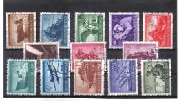 XAX245  DEUTSCHES REICH 1944  MICHL  873/85 Used / Gestempelt Siehe ABBILDUNG - Deutschland