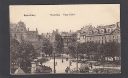 STRASSBURG:KLEBER PLATZ/PLACE KLEBER VERS 1909. - Strasbourg