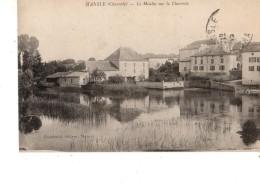 16----MONSLE---le Moulin Sur La Charente--voir 2 Scans - Mansle