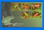 VN 2014-0001, Tree Frogs FDC - Vietnam