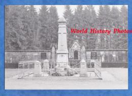 Photo Ancienne - CUMIERES ( Meuse ) Prés VERDUN - Monument Au Morts Du Village Disparu - Chattancourt - Années 1980 - Guerre, Militaire