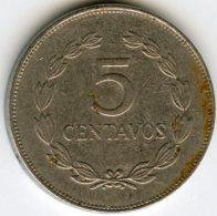El Salvador 5 Centavos 1992 KM 154b - Salvador