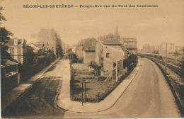 COURBEVOIE - BECON LES BRUYERES - Perspective Vu Du Pont Des Couronnes - France