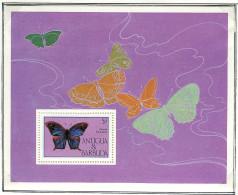 (cl 31 - P35) Antigua ** Bloc N° 92 - Papillons - Antigua And Barbuda (1981-...)