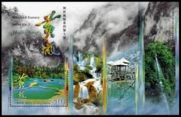 (006) Hong Kong  2008 / Huanglong Sheet / Bf / Bloc Landscapes / Paysages  ** / Mnh Michel BL 186 - Non Classés