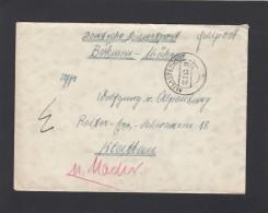 BRIEF VOM R.A.D LAGER ALTLANGENDORF(HEUTE JANOVICE-TSCHECHIEN). - Occupation 1938-45