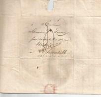 BOUILLON   7  Marque Linéaire Noire. Le 7 Peu Lisible, Mais Existant Du 2 Février  1817. - 1815-1830 (Dutch Period)