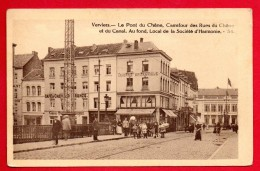 Verviers. Pont Du Chêne. Carrefour Rues Du Chêne Et Du Canal. Taverne Britannique. Passants - Verviers
