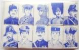 10 SUCRES HISTOIRE GENDARMERIE GENDARME MORCEAU SUCRE BEGHIN SAY MILITAIRE MILITARIA - Police