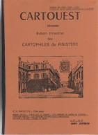 CARTOUEST. Revue Des Cartophiles Du Finistère. N°41. Cartoliste Le Conquet, Canton De Lesneven - Livres