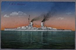 S.M.S. Markgraf  Um 1914y.  Linienschiff   C933 - Warships