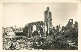 E-16 125 :  CAEN RUINES DES BOMBARDEMENT 2° GUERRE MONDAILE - Caen