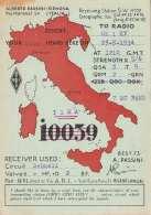 QSL Karte ALBERTO PASSINI GENOVA 1934 - Radio