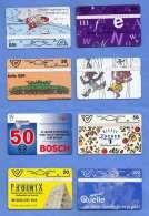 8 TWK Gebraucht - Telefonkarten