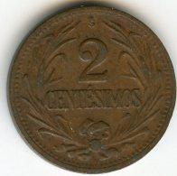 Uruguay 2 Centesimos 1943 KM 20a - Uruguay