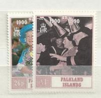 1990 MNH Falkland Islands, Postfris** - Falkland Islands
