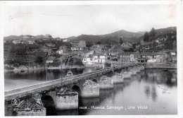 PUENTE SAMPAYO (Spanien,Galicia) - Una Vista, Gel.1924 - Espagne