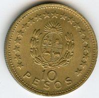 Uruguay 10 Pesos 1965 KM 48 - Uruguay