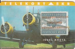 DENMARK - Rare Stamps/Insel Kreta, Tirage 3000, 03/94, Mint - Greece